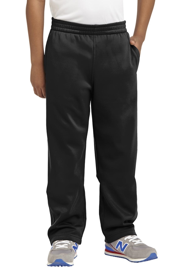 Sport-Tek® Youth Sport-Wick® Fleece Pant. YST237
