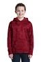 Sport-Tek® Youth Sport-Wick® CamoHex Fleece Hooded Pullover. YST240