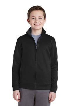 Sport-Tek® Youth Sport-Wick® Fleece Full-Zip Jacket. YST241