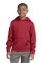 Sport-Tek® Youth Sport-Wick® Fleece Hooded Pullover. YST244