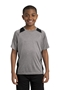 Sport-Tek® Youth Heather Colorblock Contender ™ Tee. YST361