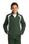 Sport-Tek® Youth Colorblock Raglan Jacket. YST60