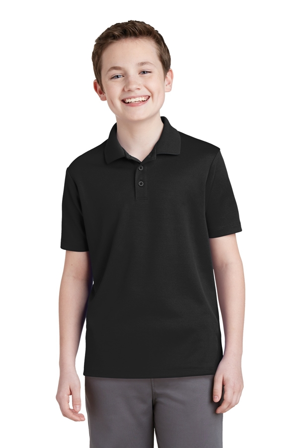 Sport-Tek® Youth PosiCharge® RacerMesh® Polo. YST640