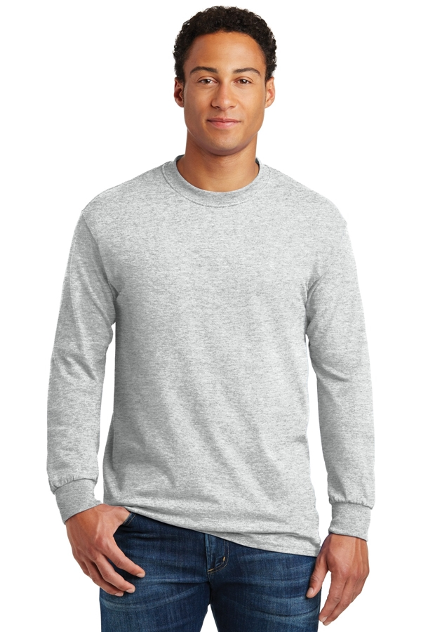 Gildan® - Heavy Cotton ™ 100% Cotton Long Sleeve T-Shirt. 5400
