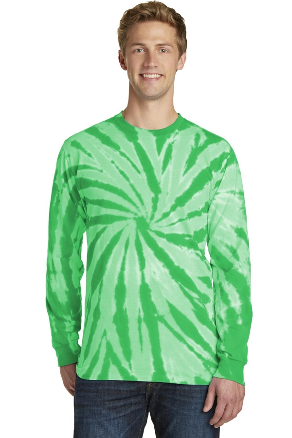 Port & Company® Tie-Dye Long Sleeve Tee. PC147LS