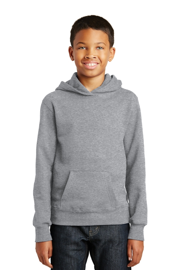 Port & Company® Youth Fan Favorite Fleece Pullover Hooded Sweatshirt. PC850YH