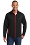 Sport-Tek® Sport-Wick® Stretch Contrast Full-Zip Jacket. ST853
