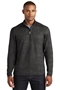 Sport-Tek® Sport-Wick® Stretch Reflective Heather 1/2-Zip Pullover. ST855